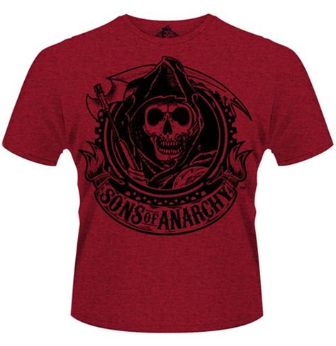 Sons Of Anarchy 2 T Shirt official sons of anarchy t shirt reaper banner buy