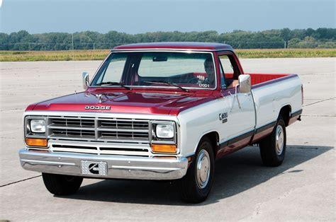 dodge truck 1985 dodge ram cummins d001 development truck