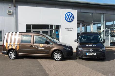 volkswagen caddy maxi kombi humac civil engineering chooses vw caddy maxi kombi vans