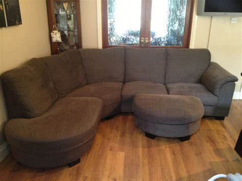 corner sofa sale ikea ikea tidafors corner sofa with footstool for sale in