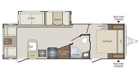 bullet rv floor plans 2018 keystone bullet 269rls floor plan travel trailer