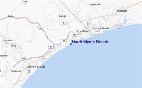 myrtle tide station location guide