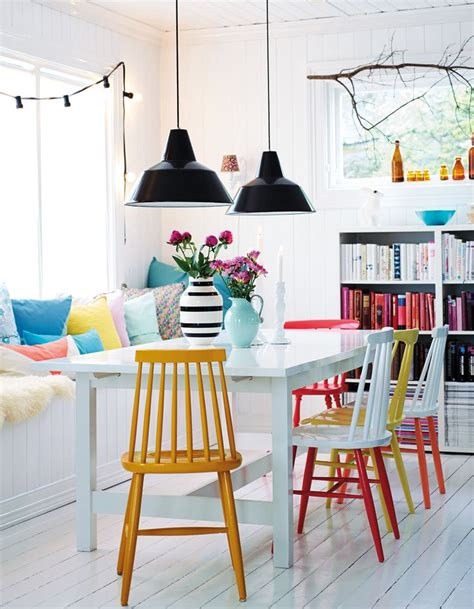 17 best ideas about bright dining rooms on