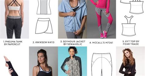 sewing pattern workout clothes 10 activewear sewing patterns diy roundup sewing diy