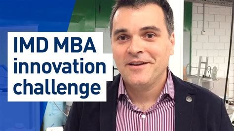 Imd Mba Tuition by Imd Mba Innovation Challenge Version
