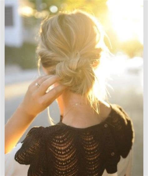can u wear use hair up with a long non layered bob ways to wear your hair up musely