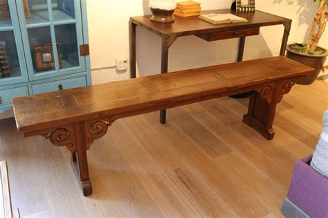 custom made bench buy a custom carved bench floor model made to order