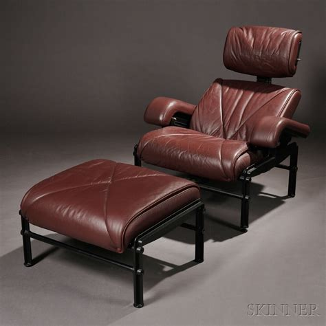 Jefferson Chair by Neils Diffrient Jefferson Chair And Ottoman Sale Number
