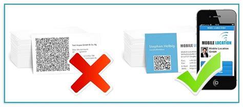 Visitenkarten Mit Qr Code Drucken visitenkarten mit qr code