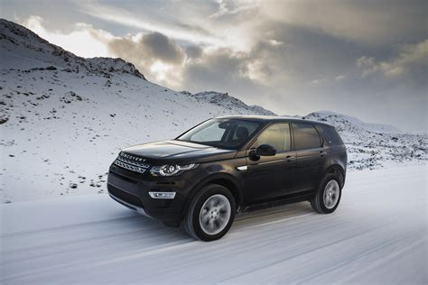 land rover iceland land rover discovery sport toasts icelandic winter test