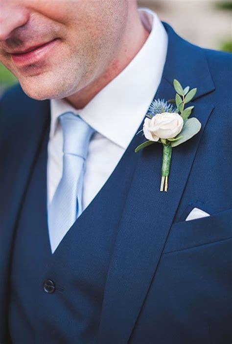 navy suit light blue tie 38 stylish and eye catchy spring groom looks weddingomania
