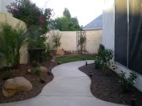 Paver Patio Ideas Arizona Tropical Landscape Design With Sod Palm Trees