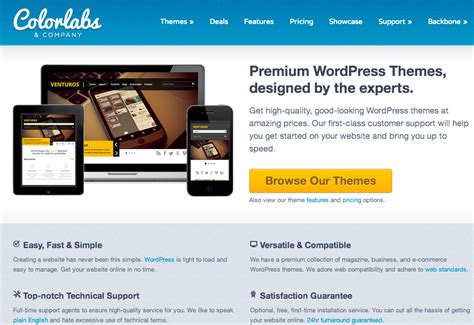 8 wordpress blog premium themes for wordpress