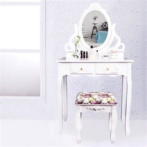 Coiffeuse Miroir Tabouret by Cclife Coiffeuse Avec Miroir Et Tabouret Coiffeuse Avec