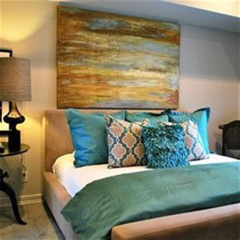 teal tans and tan bedroom on pinterest