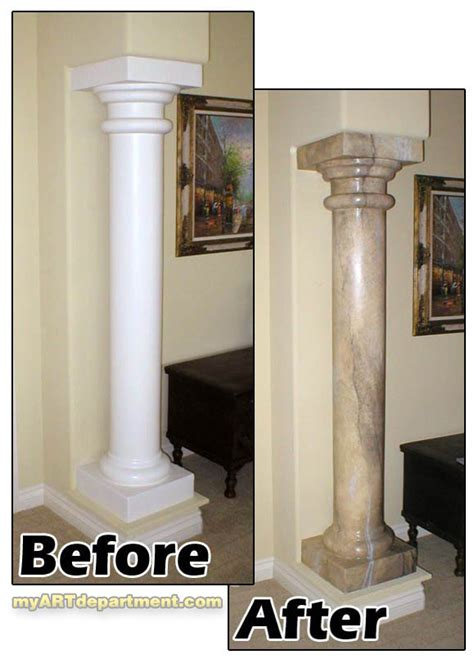 faux painted columns painted faux marble pillars gallery