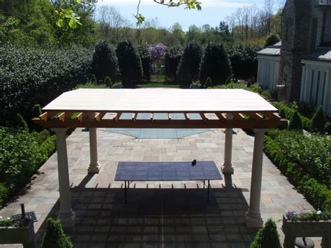 Canvas Pergola Cover Custom Fabricated Pergola Covers