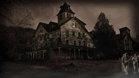 Haunted House For by Haunted House Wallpapers Desktop Wallpaper Cave