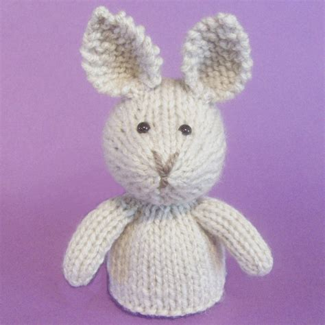 knitted rabbit rabbit knitting pattern pdf from jellybum on etsy studio