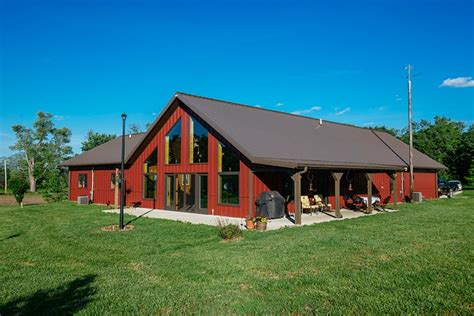 Very Impressive Metal Building Home (HQ Pictures)   Metal
