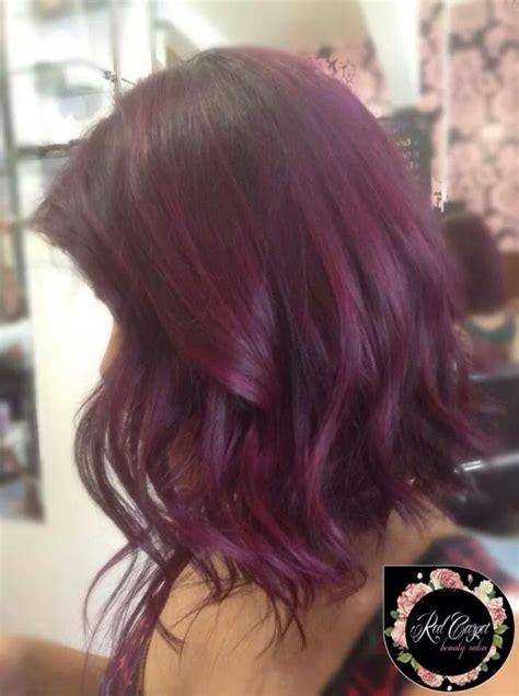 plum burgyndy bob hairstyle 488 best hair color red burgandy auburn plum images on