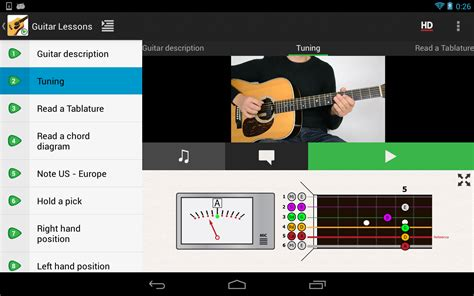 guitar tutorial app guitar lessons beginners lite android apps on google play