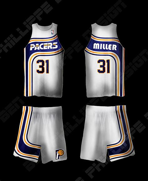 jersey design indiana pacers espn com indiana pacers fan has redesign for team