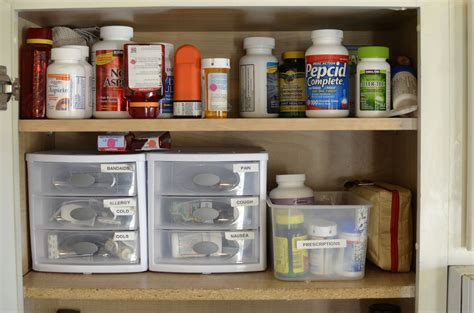 cabinet organization keeping your medicine cabinet simple safe and organized