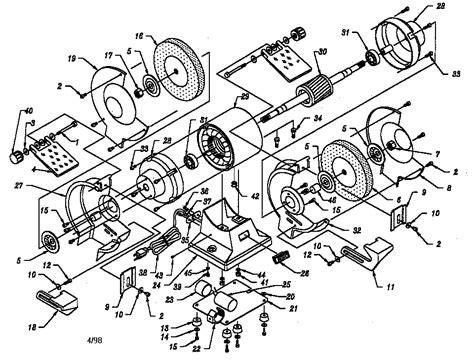 craftsman 6in bench grinder pics for gt bench grinder parts