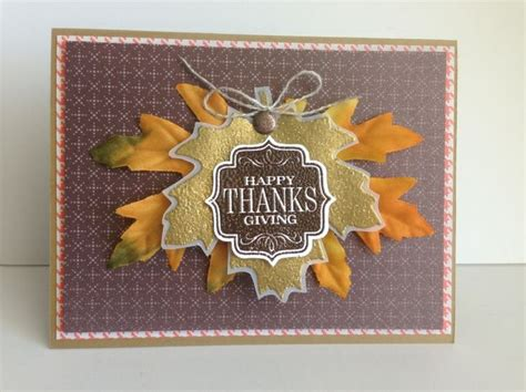 Thanksgiving Cards Handmade - thanksgiving card handmade cards