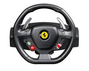 Gaming Steering Wheel For Xbox 360 And Pc 458 Italia Racing Wheel For The Xbox 360
