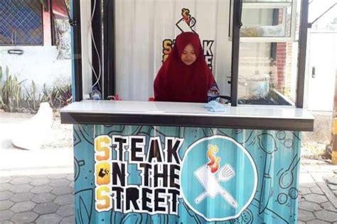 mengintip peluang bisnis steak  pinggir jalan halaman