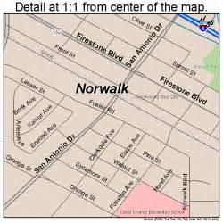 norwalk california map 0652526