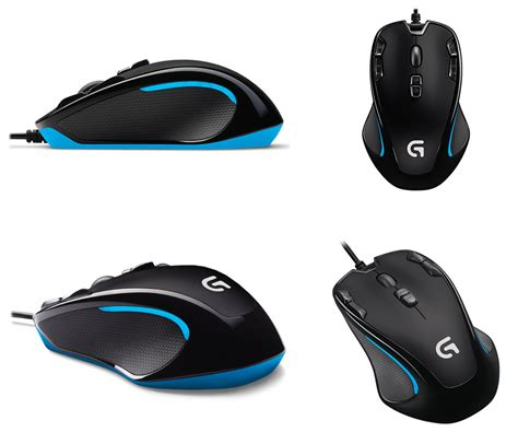 Logitech G300s Optical Ambidextrous Gaming Mouse new logitech g300s optical gaming mouse ebay