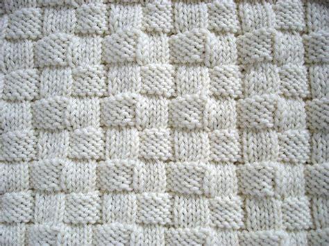 basketweave knitting pattern basketweave initial baby blanket knitting pattern by