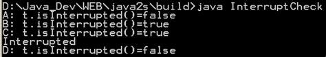 java pattern interrupt thread interrupt check thread attributes 171 threads 171 java