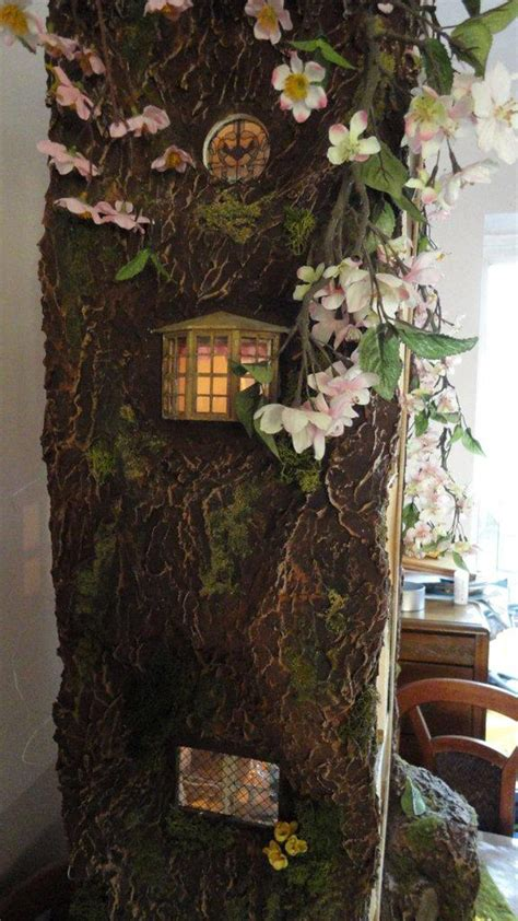 miniature tree house inspired  brambly hedge home