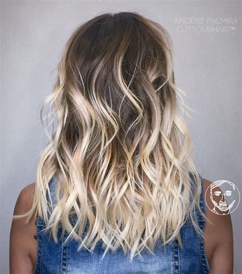 creating roots on blonde hair 17 best ideas about brunette haircut on pinterest hair