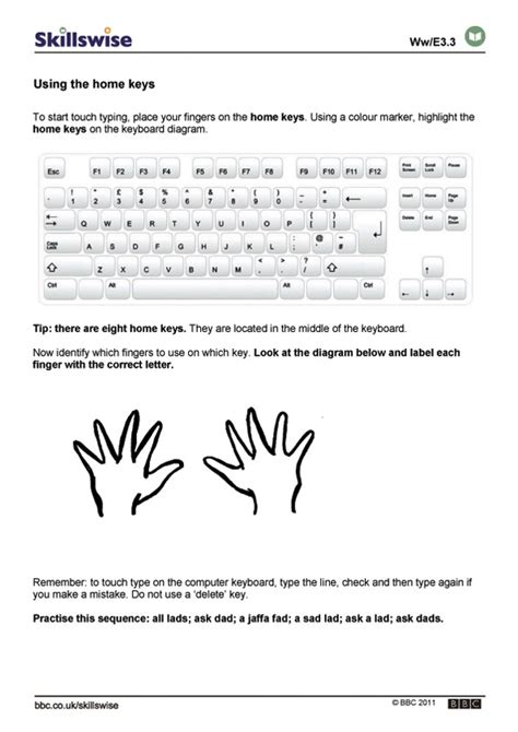 keyboard layout test best photos of typing keyboard layout worksheet free