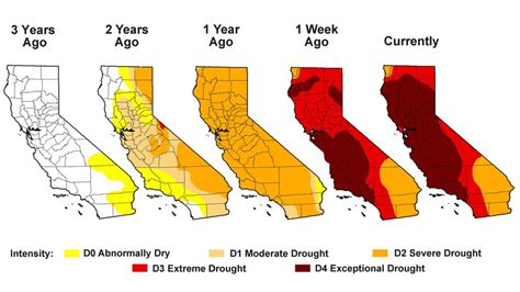 california drought map everything you want to about california s drought
