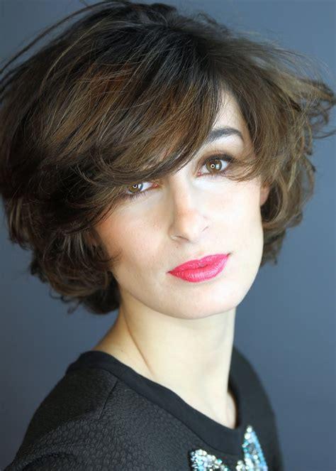 curly layered ear length hair styles ear length curly hairstyles short curly hairstyles for