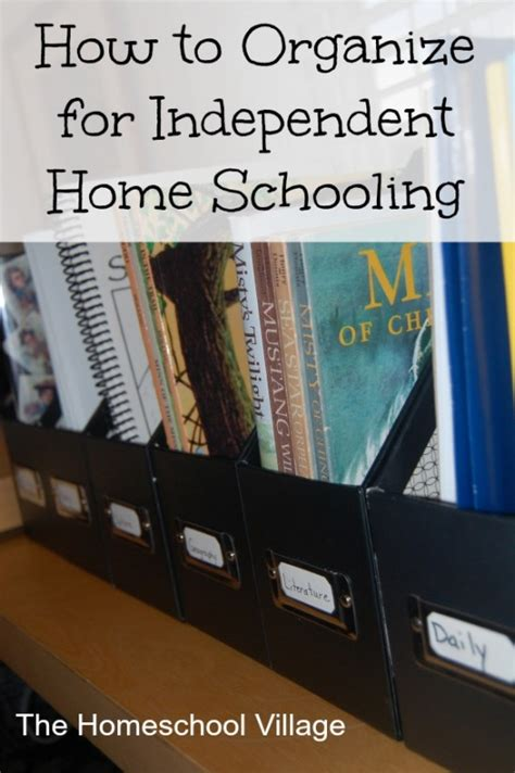how to organize home how to organize for independent home schooling the