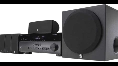 yamaha home theater speaker system reviewed youtube