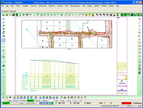 rotate layout view gis civil suite engineering design software cad gallery