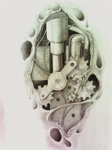 mechanical tattoo design 12 great bio mechanical design ideas