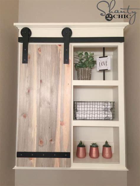 How To Make Sliding Cabinet Doors Diy Sliding Barn Door Bathroom Cabinet Sliding Barn Doors Bathroom Cabinets And Barn Doors