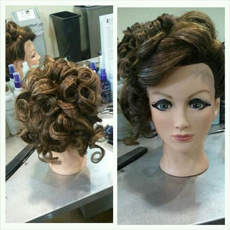 hairstyles to do on manikin mannequin updo beauty pinterest updo and fancy
