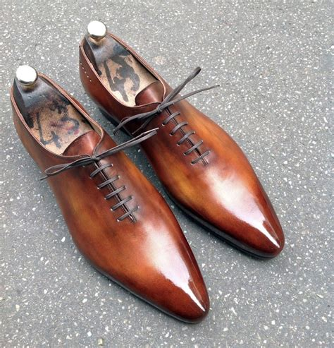caulaincourt shoes one cut 1773 wood brown shoes shoes dress shoes formal shoes for