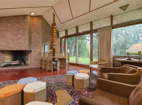 frank lloyd wright living room you could live in a frank lloyd wright designed home