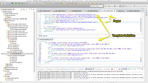 jsp template homepage template in jsp